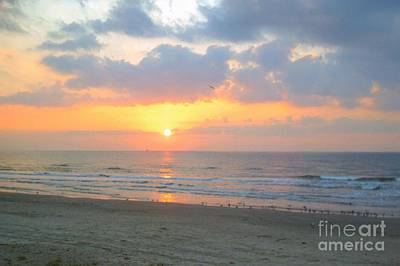 Photograph - October Sunrise by Audrey Van Tassell