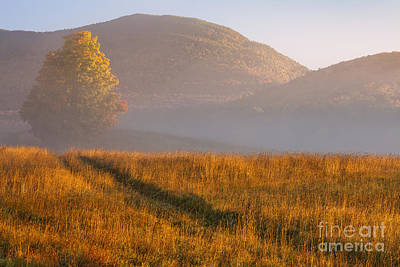 Photograph - October Sunrise Landscape by Alan L Graham