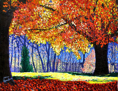 Painting - October Surprise by Stan Hamilton