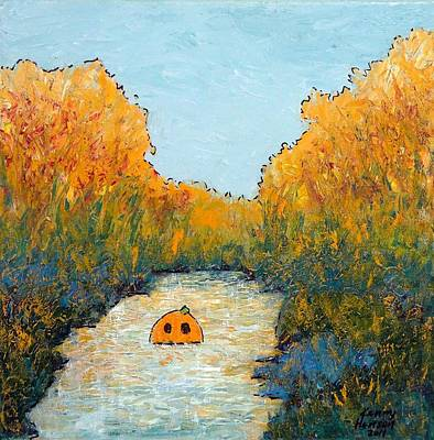 Mixed Media - October View by Kenny Henson