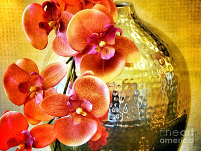 October's Orchids Art Print