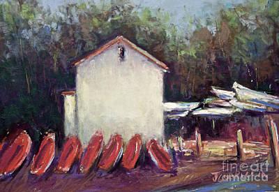 Pastel - Octoquan by Joyce A Guariglia