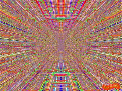 Ocular Migraine Art Print by Bobby Hammerstone