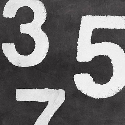 Royalty-Free and Rights-Managed Images - Odd Numbers by Linda Woods