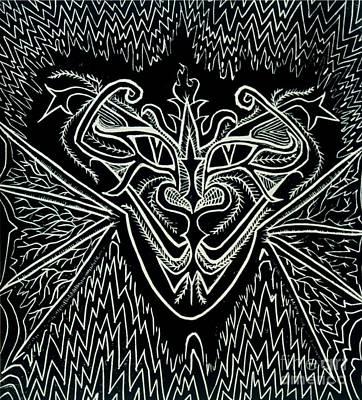 Oddity Art Print by Coriander  Shea