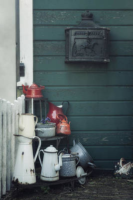 Mail Box Photograph - Odds And Ends by Joana Kruse