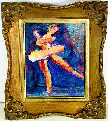 Painting - Ode To Degas by Les Leffingwell