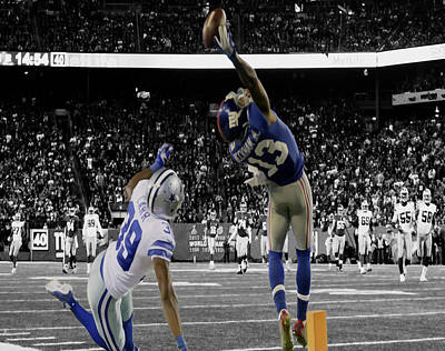 Beckham Photograph - Odell Beckham Greatest Catch Ever by Brian Reaves