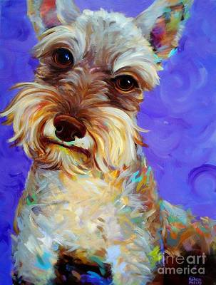 Art Print featuring the painting Odie by Robert Phelps