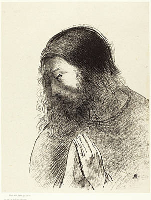 1916 Drawing - Odilon Redon French, 1840 - 1916, Cest Moi by Quint Lox