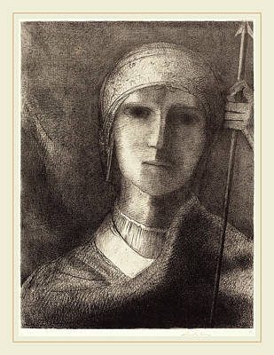 Parsifal Drawing - Odilon Redon French, 1840-1916, Parsifal by Litz Collection