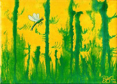 Odonata Art Print by Lance Bifoss