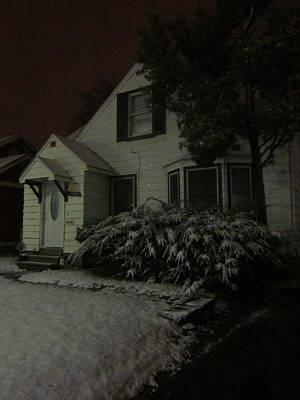Photograph - Of A Winter Night by Guy Ricketts