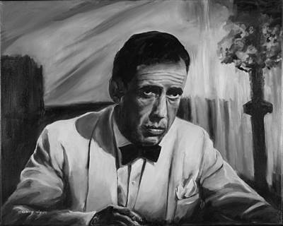 Casablanca Film Painting - Of All The Gin Joints by Gary Wynn