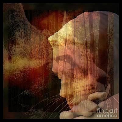 Digital Digital Art - Of Lucid Dreams / Dreamscape 11 by Elizabeth McTaggart