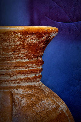 Handmade Hand Made Ceramic Pottery Pot Pots Photograph - Of The Earth And The Sky by Nikolyn McDonald