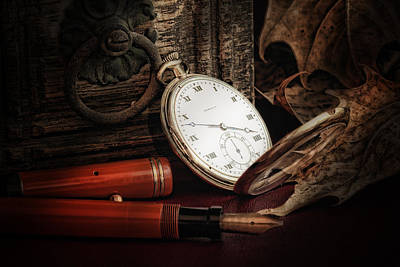 Watch Photograph - Of Times Gone By by Tom Mc Nemar