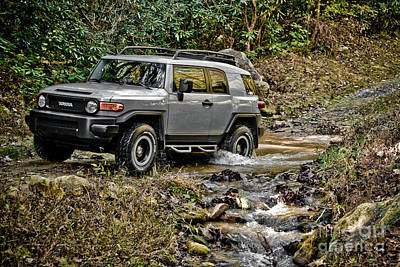 Turf Photograph - Off Road Cruiser 2 by Jt PhotoDesign