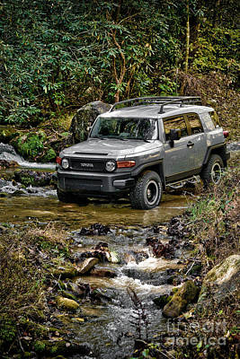 Turf Photograph - Off Road Cruiser by Jt PhotoDesign