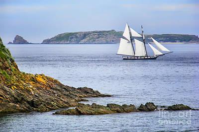 Photograph - Off Saint-malo by Nikolyn McDonald