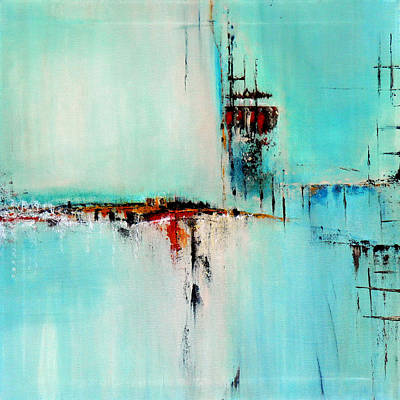 Off Shore By Elwira Pioro Art Print by Tom Fedro - Fidostudio