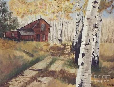 Painting - Off The Beaten Path by Audrey Van Tassell