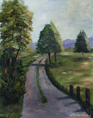 Painting - Off The Beaten Path by Shirley Lawing