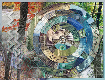 Off The Grid Art Print