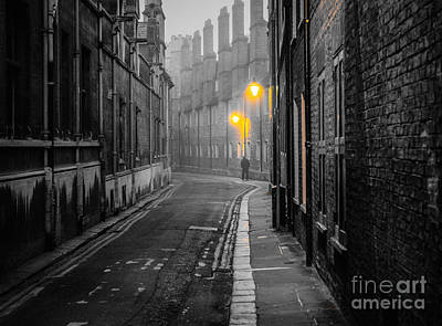 Photograph - Off To Work by David Warrington