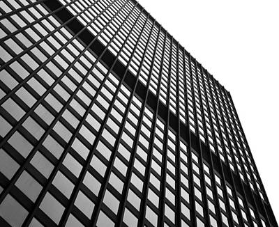 Cubicle Photograph - Office Building Facade by Valentino Visentini