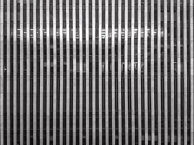 Office Building Art Print by H James Hoff