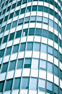 Office Builing Art Print by Tom Gowanlock