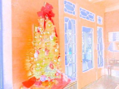 Digital Art - Office Christmas Card by Angelia Hodges Clay