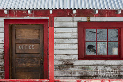 Photograph - Office Door by David Arment