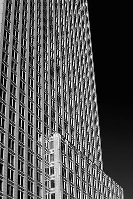 City Life In Montreal Photograph - Office Tower  Montreal, Quebec, Canada by David Chapman