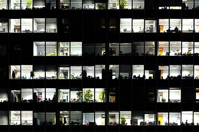 Photograph - Office Windows by Fabrizio Troiani