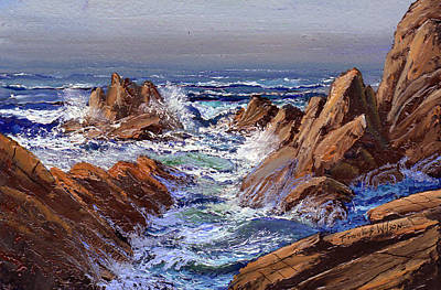 Painting - Offshore Fog by Frank Wilson