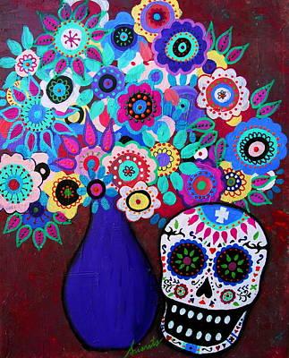 Painting - Ofrenda De Flores by Pristine Cartera Turkus