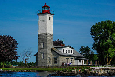 Ogdensburg Light House Art Print
