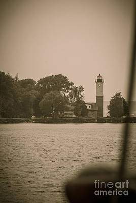 Photograph - Ogdensburg Lighthouse From The Hms Bounty by Patricia Trudell