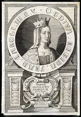 Ogdive, Queen Of Charles IIi  (the Art Print