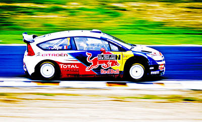 Rally New Zealand Photograph - Ogier Citroen Wrc by motography aka Phil Clark