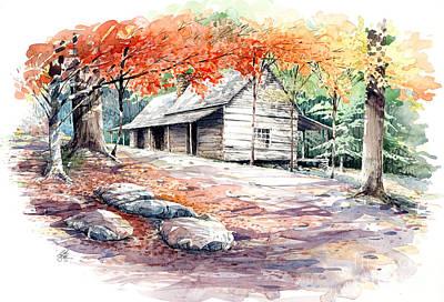 Ogle Farmhouse Art Print