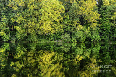 Photograph - Ogle Lake Reflections 2 by Mary Carol Story