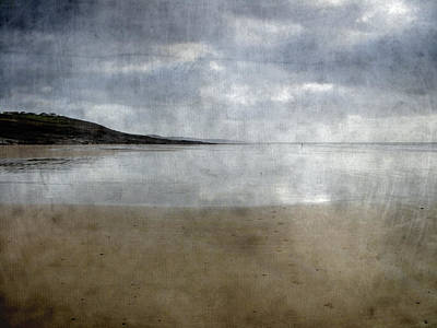 Ogmore Beach Art Print by Kevin Round