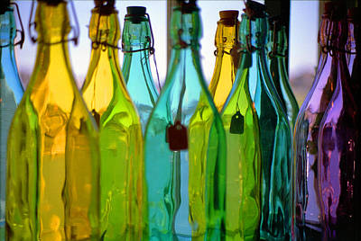 Photograph - Ogunquit Bottles by Bruce Rolff