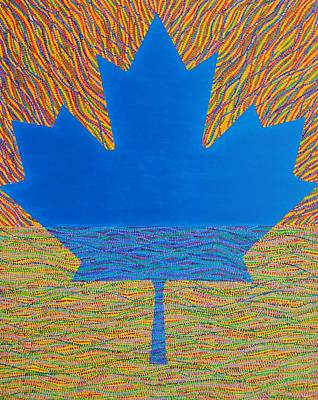 Painting - Oh Canada 2 by Kyung Hee Hogg