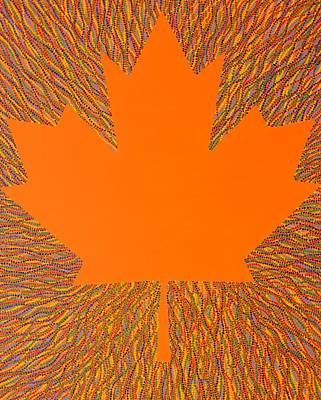 Painting - Oh Canada 5 by Kyung Hee Hogg