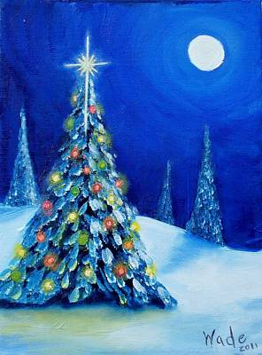 Painting - Oh Christmas Tree by Craig Wade