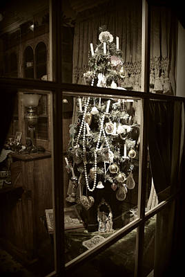Photograph - Oh Christmas Tree - Sepia by Marilyn Wilson